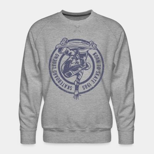 skateboard skate sk8 - Men's Premium Sweatshirt