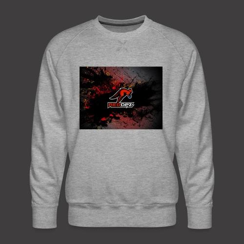 RedOpz Splatter - Men's Premium Sweatshirt