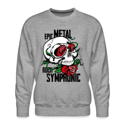 epic rock symphonic - Men's Premium Sweatshirt