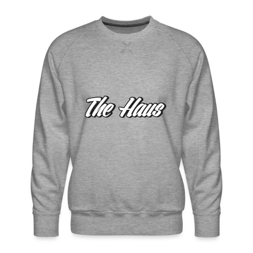 The Haus Logo - Men's Premium Sweatshirt