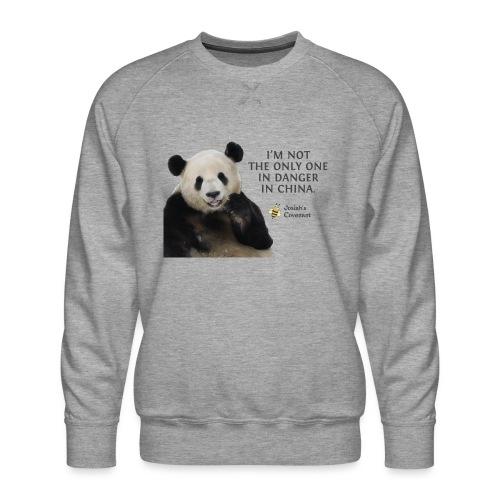 Endangered Pandas - Men's Premium Sweatshirt