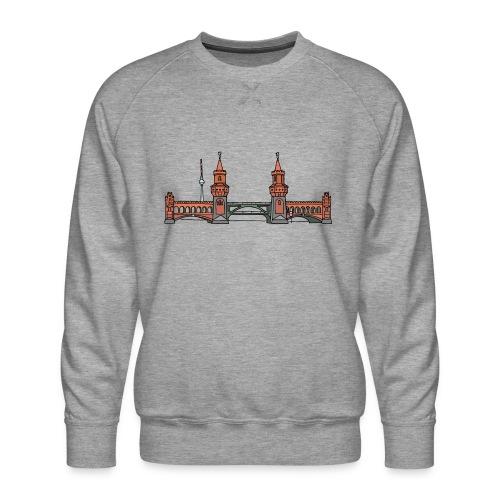 Oberbaum Bridge Berlin - Men's Premium Sweatshirt