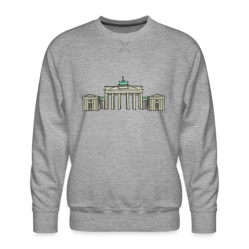 Brandenburg Gate Berlin - Men's Premium Sweatshirt