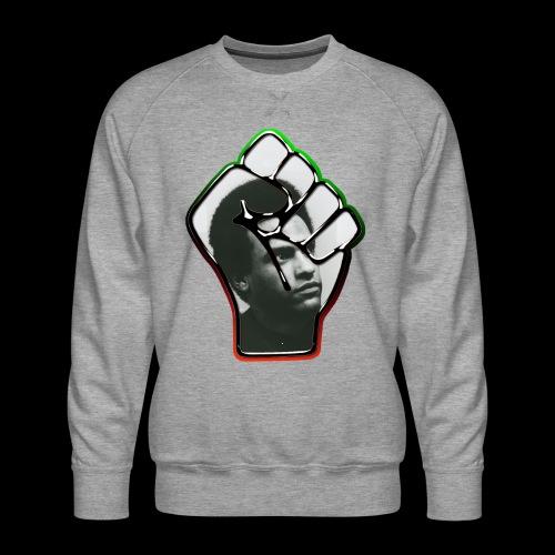 Huey Newton RBG Fist - Men's Premium Sweatshirt
