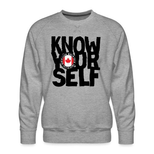 know black - Men's Premium Sweatshirt