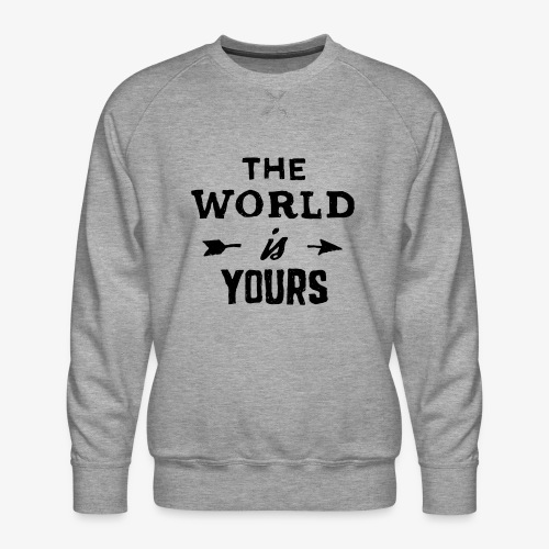 the world - Men's Premium Sweatshirt