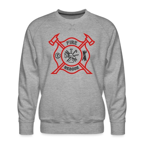 Fire Rescue - Men's Premium Sweatshirt