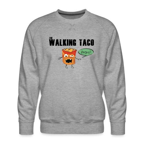 The Walking Taco - Men's Premium Sweatshirt