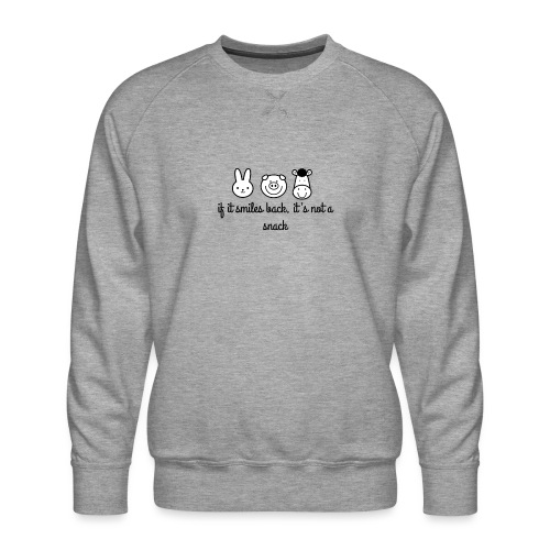 SMILE BACK - Men's Premium Sweatshirt