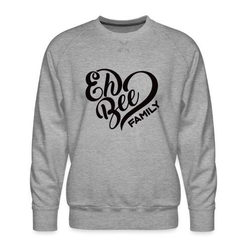 EhBeeBlackLRG - Men's Premium Sweatshirt