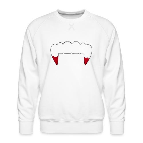 Vampire Fangs - Men's Premium Sweatshirt