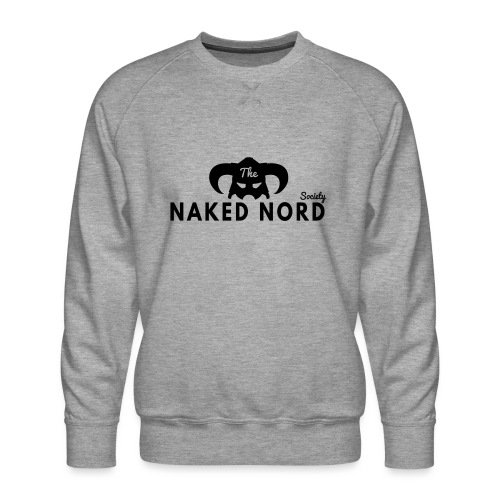 The Naked Nord Society - Men's Premium Sweatshirt