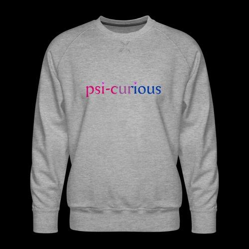 psicurious - Men's Premium Sweatshirt