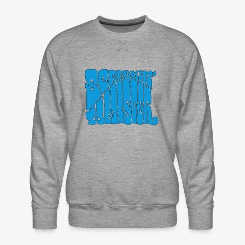 Screamin' Whisper Retro Logo - Men's Premium Sweatshirt