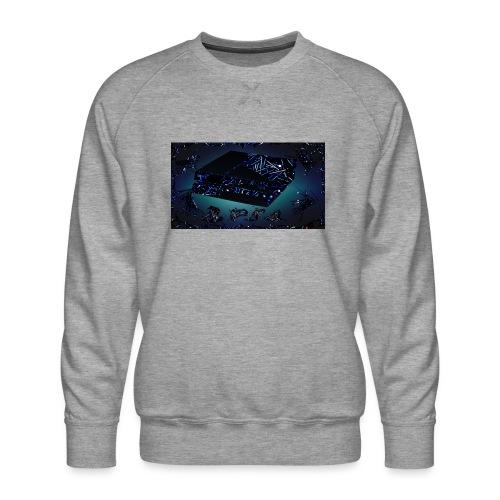 ps4 back grownd - Men's Premium Sweatshirt