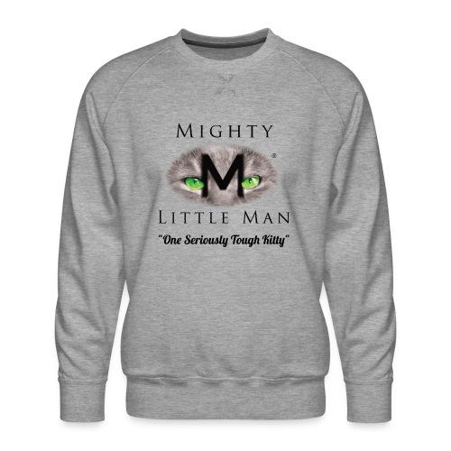 MIGHTY LITTLE MAN Logo - Men's Premium Sweatshirt