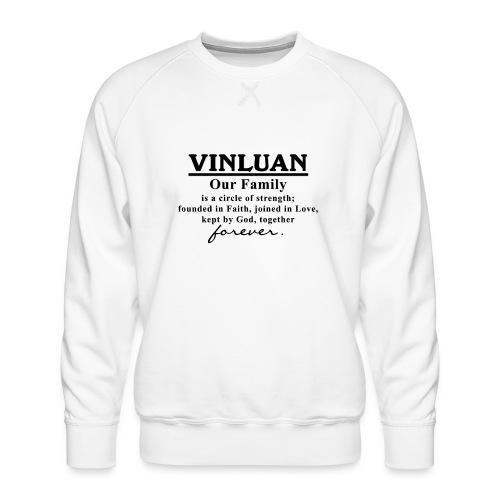 Vinluan Family 01 - Men's Premium Sweatshirt