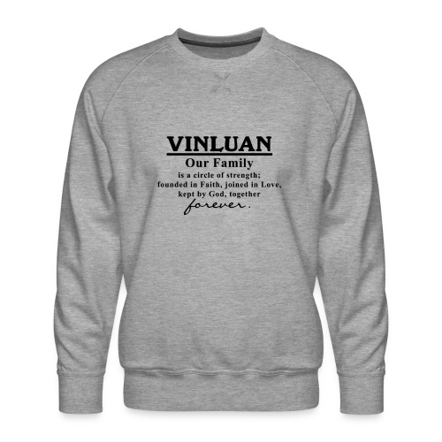 Vinluan Family 01 - Men's Premium Sweatshirt