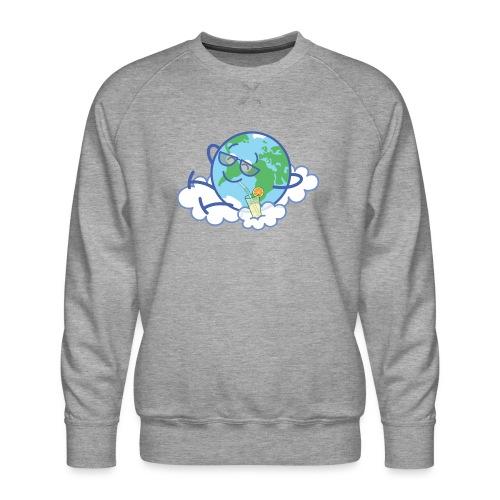 Mischievous Earth taking a well deserved break - Men's Premium Sweatshirt