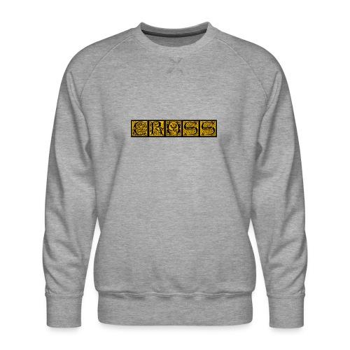 Cr0ss Gold-Out logo - Men's Premium Sweatshirt