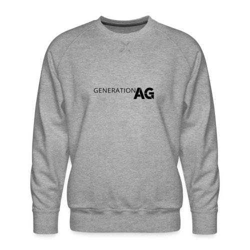 Generation Ag Black - Men's Premium Sweatshirt