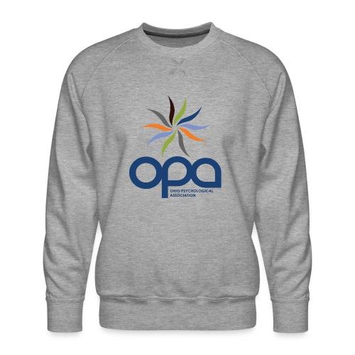Long-sleeve t-shirt with full color OPA logo - Men's Premium Sweatshirt