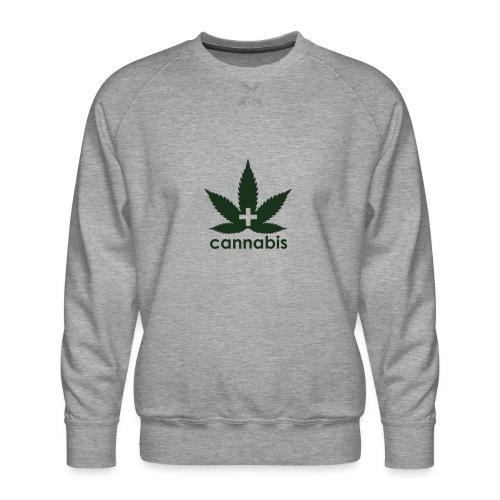 Medical Cannabis Supporter - Men's Premium Sweatshirt
