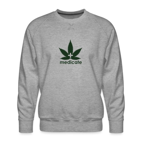 Medicate Supporter - Men's Premium Sweatshirt