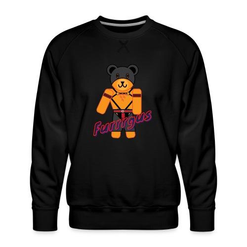 Leather Furrrgus - Men's Premium Sweatshirt
