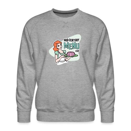 Mid-Century Menu Ruth Logo - Men's Premium Sweatshirt