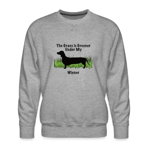 Wiener Greener Dachshund - Men's Premium Sweatshirt