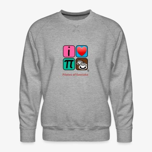 color with text - Men's Premium Sweatshirt