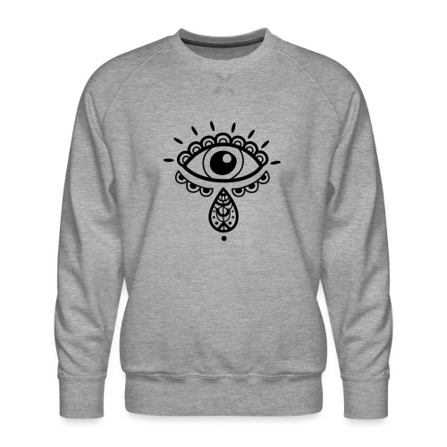 Cosmos 'Teardrop' - Men's Premium Sweatshirt