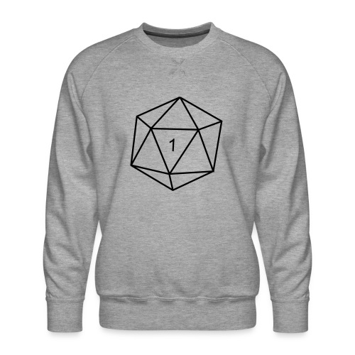 d20 - 1 - Men's Premium Sweatshirt