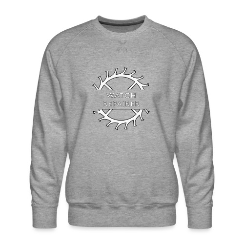 Watch Repairer Emblem - Men's Premium Sweatshirt