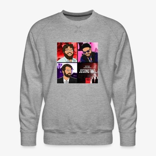 Second Take Cover - Men's Premium Sweatshirt