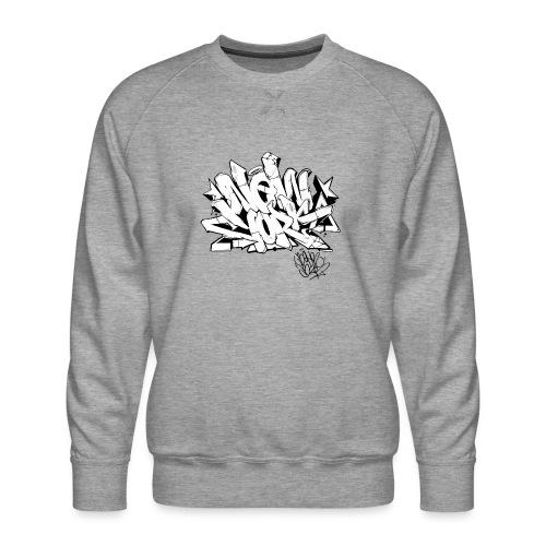 Behr - New York Graffiti Design - Men's Premium Sweatshirt