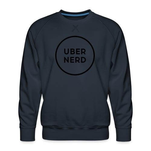 uber nerd logo - Men's Premium Sweatshirt