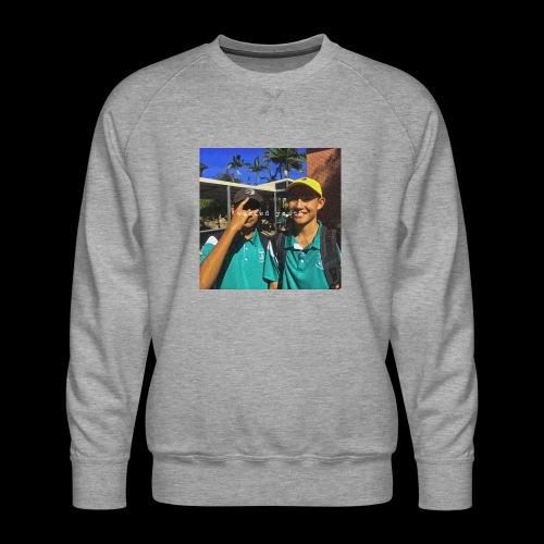 wasted youth. - Men's Premium Sweatshirt