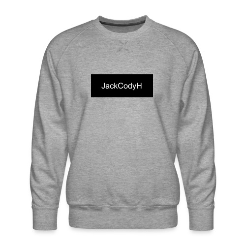 JackCodyH black design - Men's Premium Sweatshirt