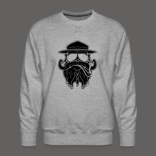 OldSchoolBiker - Men's Premium Sweatshirt