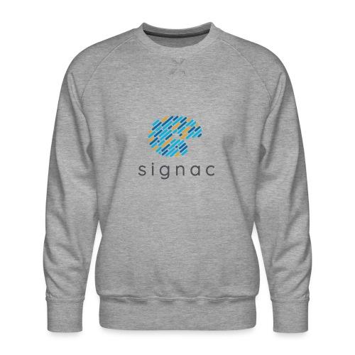 signac - Men's Premium Sweatshirt