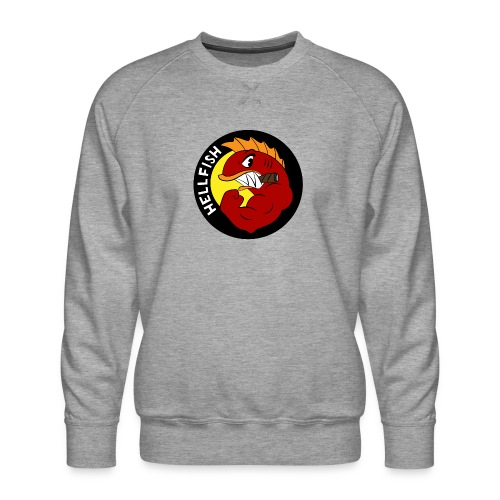 Hellfish - Flying Hellfish - Men's Premium Sweatshirt