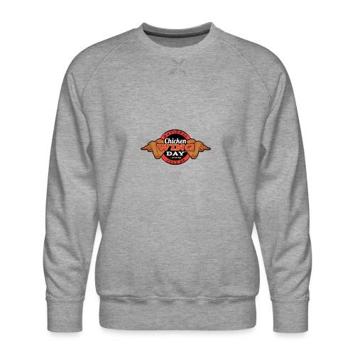 Chicken Wing Day - Men's Premium Sweatshirt