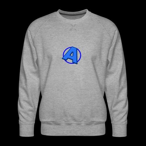 Awesomegamer Logo - Men's Premium Sweatshirt