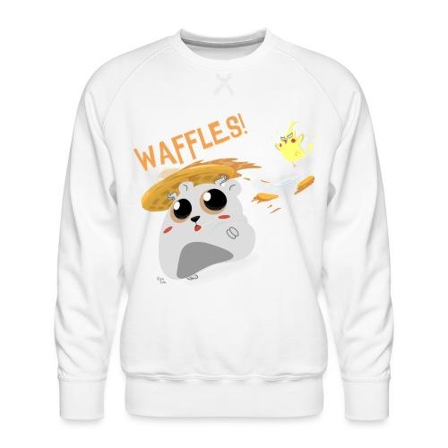 Waffles! - Men's Premium Sweatshirt