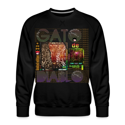 GATO de DIABLO (Limited Edition) - Men's Premium Sweatshirt