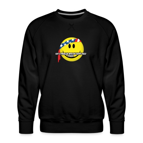 Happy Face USA - Men's Premium Sweatshirt