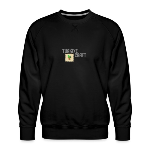 TurkiyeCraft Logo - Men's Premium Sweatshirt