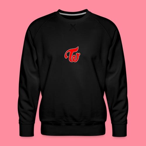 TWICE Logo - Men's Premium Sweatshirt